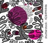 seamless scandinavian pattern... | Shutterstock .eps vector #426494446