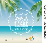 summer sale label | Shutterstock .eps vector #426498592