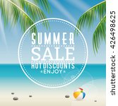 summer sale label | Shutterstock .eps vector #426498625