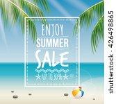 summer sale label | Shutterstock .eps vector #426498865