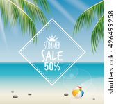 summer sale label | Shutterstock .eps vector #426499258