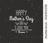 mother day labels | Shutterstock .eps vector #426501058