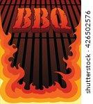 bbq design is an illustration... | Shutterstock . vector #426502576