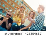 group of friends taking their... | Shutterstock . vector #426504652