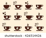 cup of coffee tea hot drink... | Shutterstock .eps vector #426514426
