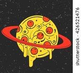 hand drawn funny illustration... | Shutterstock .eps vector #426521476