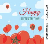morocco independence day flat...   Shutterstock .eps vector #426525625