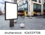 blank mock up of vertical... | Shutterstock . vector #426529708
