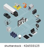 3d illustration of big data... | Shutterstock . vector #426533125
