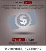 money dollar bill icon vector... | Shutterstock .eps vector #426558442