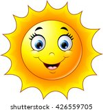 cute cartoon sun | Shutterstock .eps vector #426559705