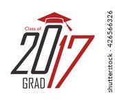 2017 congrats or... | Shutterstock .eps vector #426566326