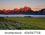 First Light Of Dawn Catches Th...