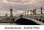 paris  france. pont alexandre... | Shutterstock . vector #426567982