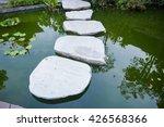 stone bridge  stepping stones... | Shutterstock . vector #426568366