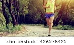 young fitness woman trail...   Shutterstock . vector #426578425