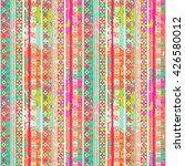 ethnic boho seamless pattern.... | Shutterstock .eps vector #426580012