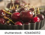 close up of fresh cherry... | Shutterstock . vector #426606052