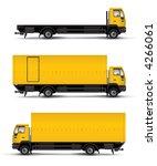 truck car template vector... | Shutterstock . vector #4266061