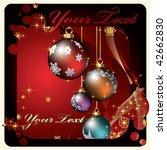 christmas | Shutterstock .eps vector #42662830