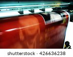 large format ink jet printer | Shutterstock . vector #426636238