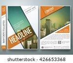 brochure design template vector.... | Shutterstock .eps vector #426653368
