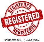 registered. stamp | Shutterstock .eps vector #426657052