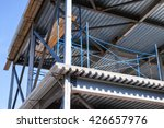 modern industrial building is... | Shutterstock . vector #426657976