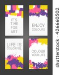 set of 240 x 400 size banners... | Shutterstock .eps vector #426660502