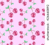 seamless vector pattern with... | Shutterstock .eps vector #426660892