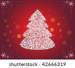 christmas tree | Shutterstock .eps vector #42666319