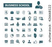 business school icons    Shutterstock .eps vector #426668122