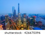 Elevated View Of Lujiazui ...