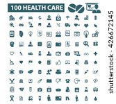 health care icons  | Shutterstock .eps vector #426672145