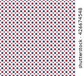 patriotic usa seamless pattern. ... | Shutterstock .eps vector #426674548