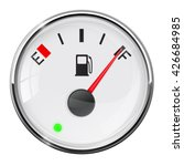 fuel gauge. full tank.... | Shutterstock . vector #426684985