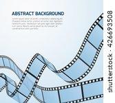 film strip roll vector cinema... | Shutterstock .eps vector #426693508