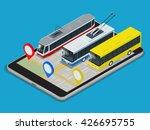 public transport trolleybus ... | Shutterstock .eps vector #426695755
