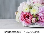 Floral Arrangement With Pink...