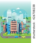 illustration of environmental... | Shutterstock .eps vector #426708238