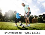 family father son togetherness... | Shutterstock . vector #426712168