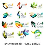 multicolored abstract leaves in ... | Shutterstock .eps vector #426715528
