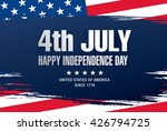 fourth of july independence day | Shutterstock .eps vector #426794725