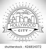 minimal hollywood linear...   Shutterstock .eps vector #426814372