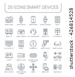 set vector line icons with open ... | Shutterstock .eps vector #426814528
