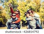 friendship  leisure  season and ... | Shutterstock . vector #426814792