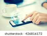 business  technology ... | Shutterstock . vector #426816172