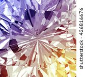 diamond texture with colorful... | Shutterstock . vector #426816676