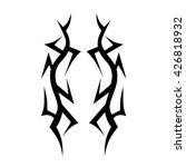 tattoo tribal vector designs.... | Shutterstock .eps vector #426818932