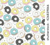 seamless pattern with cute ...   Shutterstock .eps vector #426839866